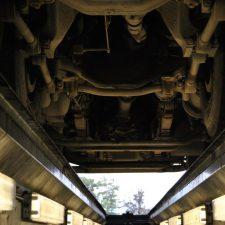 Onderkant van een trailer- uitlijnen